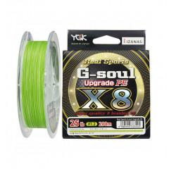 Плетёный шнур YGK G-Soul PE X8 Upgrade 200m #0.6/14lb