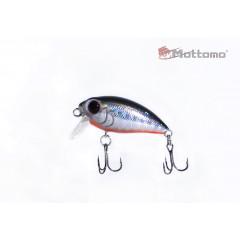 Воблер Mottomo Stalker 36F 3,5g Col:A027 Silver Fish