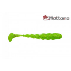 Виброхвост Mottomo Noise 5см Chartreuse Glitter 8шт.