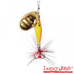 Блесна вращающаяся Lucky John Trian Blade Round 9 гр, цвет 001