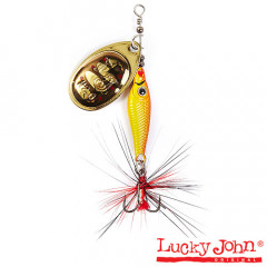 Блесна вращающаяся Lucky John Trian Blade Round 6 гр, цвет 001
