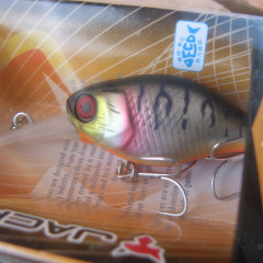 Воблер JACKALL Diving Chubby 38 4.3g uv mat silver tiger