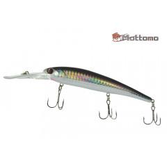 Воблер Mottomo Catcher 120F 20g Col:F067 Silver Black