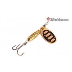 Блесна Mottomo Bug Blade #0 3.5g Copper 31