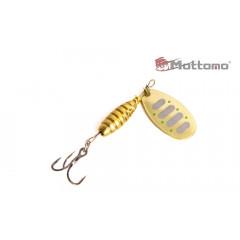 Блесна Mottomo Bug Blade #0 3.5g Gold 16