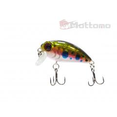 Воблер Mottomo Stalker 36F 3,5g Baby Salmon