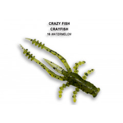 Мягкая приманка Crazy Fish CRAYFISH 26-45-16-4