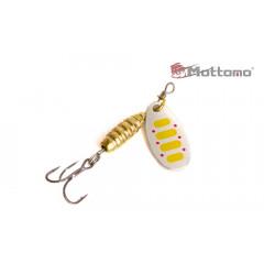 Блесна Mottomo Bug Blade #0 3.5g Silver 27