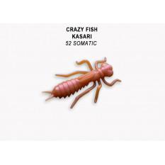 "Личинка Crazy Fish KASARI 1"" 52-27-52-7"