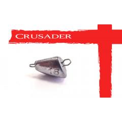 Чебурашка разборная Crusader Голова рыбы 1 гр, 10 шт.