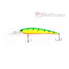 Воблер Mottomo Deep Hooker 90F 8,5g Lime Tiger