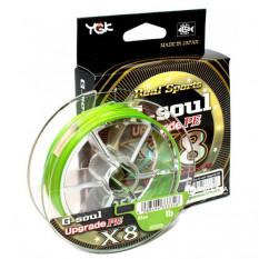 Плетёный шнур YGK G-Soul PE X8 Upgrade 150m #0.6/14lb