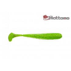 Виброхвост Mottomo Noise 8,75см Chartreuse Glitter 5шт.