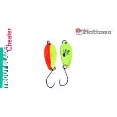 Блесна Mottomo Trout Blade Cheater 2.7g 018