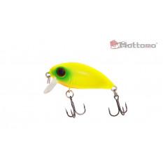 Воблер Mottomo Stalker 36F 3,5g Col:F370 Chart Yellow