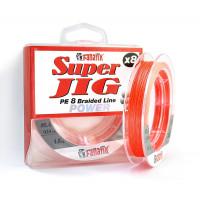 Super Jig PE X8 orange 120 м