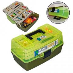 Ящик рыболовный пластиковый Salmo 3х-полочный малый