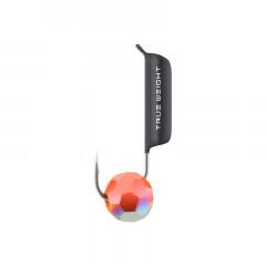 Мормышка вольфрамовая True Weight Гвоздешарик D1.5 многогранный красный