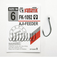 Крючок Fanatik AJI FEEDER FK-1092 №6