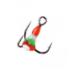 Крючок-тройник для приманок LJ SCANDI с каплей цвет. разм.014/RFG