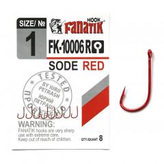 Fanatik (Фанатик) Sode Red FK-10006R