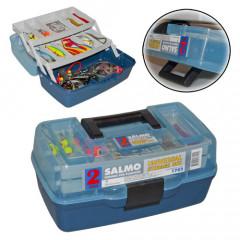 Ящик рыболовный пластиковый Salmo 2х-полочный малый