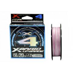 Плетёный шнур YGK X-Braid Upgrade X4 150m #1.5/25lb
