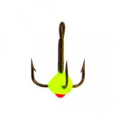 Крючок-тройник для приманок LJ SCANDI с каплей цвет. разм.012/Y