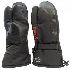 Варежки Alaskan TwoFingers XL черные