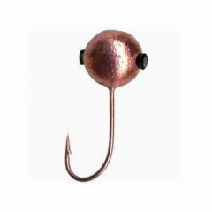 Мормышка вольфрамовая Lucky John Шар с отверстием и кембриком 3мм/C