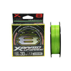 Плетёный шнур YGK X-Braid Upgrade X8 150m #1.5/30lb