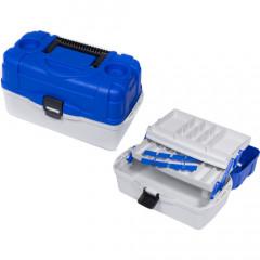 Ящик рыболовный пластиковый Salmo 2х-полочный 012