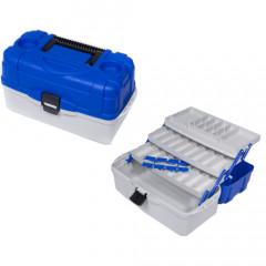 Ящик рыболовный пластиковый Salmo 3х-полочный 033