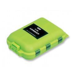 Коробка рыболовная Meiho FB-10 FLY BOX Green 97x65x30