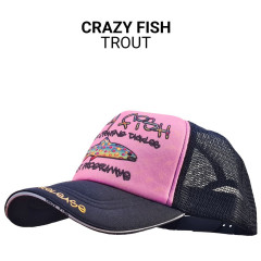 Кепка тракер Crazy Fish Trout M