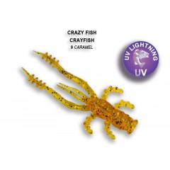 """Силиконовая приманка Crazy Fish Crayfish 1.8"""" 26-45-9-6"""
