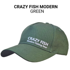 Кепка Crazy Fish Modern green M