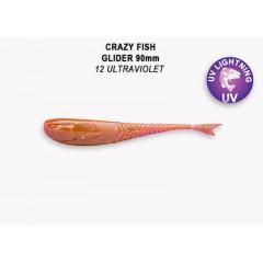 """Силиконовая приманка Crazy Fish Glider 3.5"""" 36-90-12-6"""