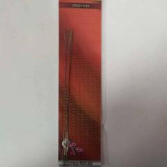 Поводок Струна Crazy Fish 0.28 мм 10 см 5 шт