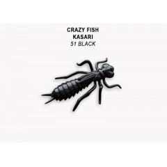 """Силиконовые приманки Crazy Fish Kasari 1.6"""" 51-40-51-7-F"""