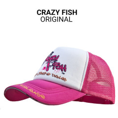 Кепка тракер Crazy Fish Original L