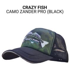 Кепка тракер Crazy Fish Camo Zander Pro bl L