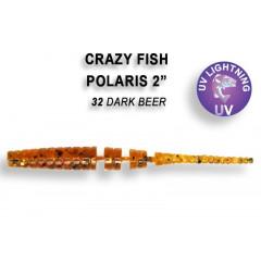 """Силиконовая приманка Crazy Fish Polaris 2.2"""" 17-54-32-6"""