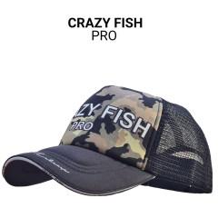 Кепка тракер Crazy Fish Pro M