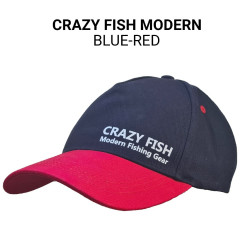 Кепка Crazy Fish Modern blue-red M