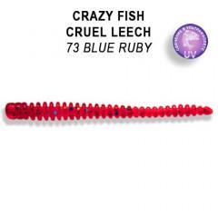 """Силиконовые приманки Crazy Fish Cruel Leech 2.2"""" 8-55-73-6"""