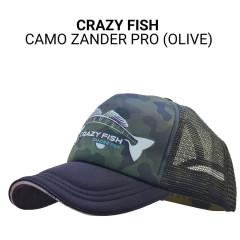 Кепка тракер Crazy Fish Camo Zander Pro ol M