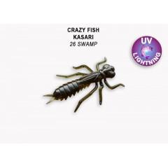 """Силиконовые приманки Crazy Fish Kasari 1.6"""" 51-40-26-7-F"""