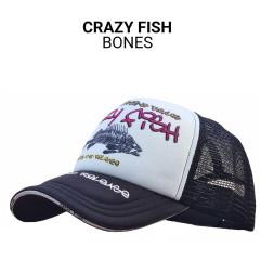 Кепка тракер Crazy Fish Bones XL