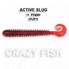 Мягкая приманка Crazy Fish ACTIVE SLUG 2-7.1-11-6
